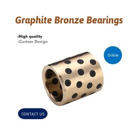 Self Lubricating Solid Inlaid Graphite Plugged Bushings supplier