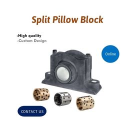 Self Aligning Split Pillow Block Bearing Cast Iron Housings supplier