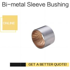 Bimetal Lead-Free Plain Thin Walled bearing Imperial & Metric Sizes Bush With Grooves supplier