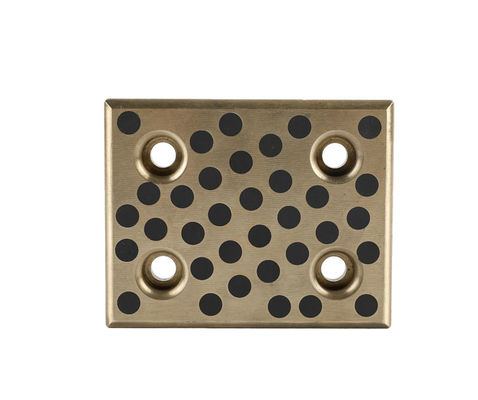 Oilless Plate Plugged Graphite Cast Bronze Wear Plate,With Graphite,High Quality supplier