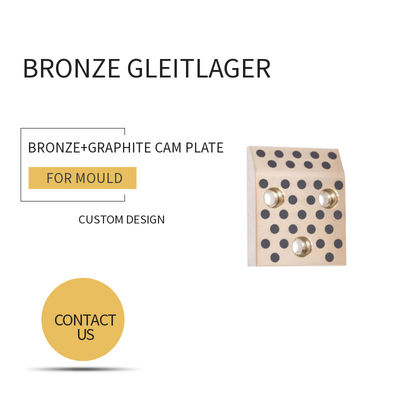 Mould DME Standard Elements Bronze Graphite Cam Plate For Injection & Die Casting Moulds supplier