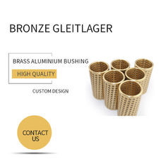 FZ Ball Bearing Cage Bronze Gleitlager Brass Aluminum Bushing Stock Size Available