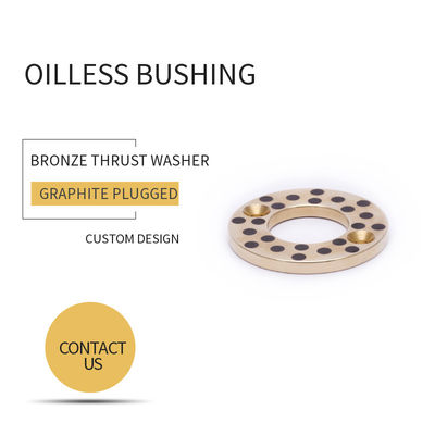 CuZn25A16Fe3Mn4 C86300 Graphite Bronze Bushing Slider Washer Material