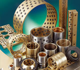 Die Mold Industry Solid Sleeve Bushing , Graphite Plugged Bronze Bushings