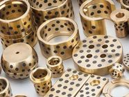 High Strength Brass Straight Type C86300 (SAE 430B) Manganese Bronze Plugged Graphite Bushings made to order supplier