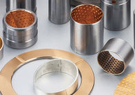 China Bronze Bimetal Bushings | Carbon steel with tin-lead-bronze alloy CuSn10Pb10 sintered factory