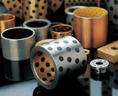 ROHS Straight & Steel PTFE Sleeve Bushings Flange Bearing Lead Free Washer LBM Tolerance supplier