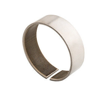 WOVEN GLIDE BUSHING SLIDING BEARINGS | COILED STAINLESS STEEL FABRIC SELF-LUBRICATING BEARINGS PTFE/KEVLAR supplier