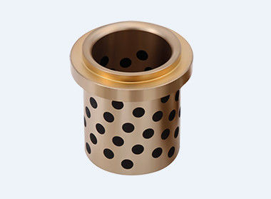 CuZn25AI5Mn4Fe3 Graphite Plugged Bronze Bushings For Mine Exploiting Equipments supplier