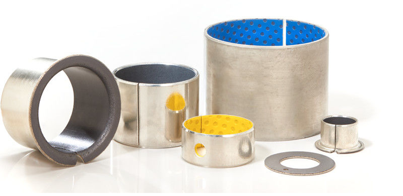 Concrete Pump Polymer Plain Bearings High Static And Dynamic Load Capacity | 12DU08