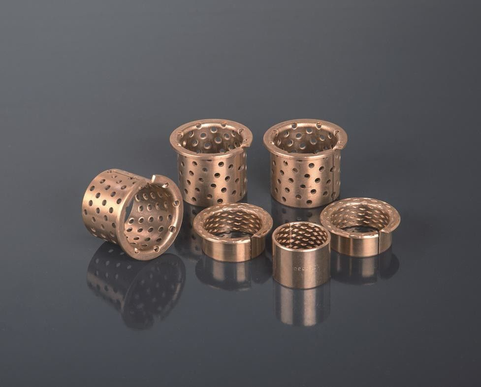 CuSn8 Wrapped Bronze Bearings ISO 9001 Approved , Easy For Fitting And Lubricating