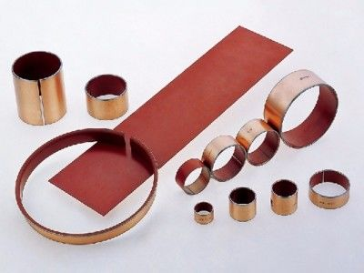 Oil Cylinder Plain Bearing | Dp4 Strip & Plate For Motorcycle Shock Absorbers