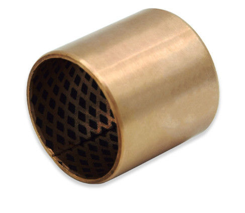 BRONZE WRAPPED BEARINGS CUSN8 & CUSN6.5P0.1 WITH GRAPHITE  STANDARD SIZE CYLINDRICAL FLANGED SLEEVE BUSHING 09G supplier