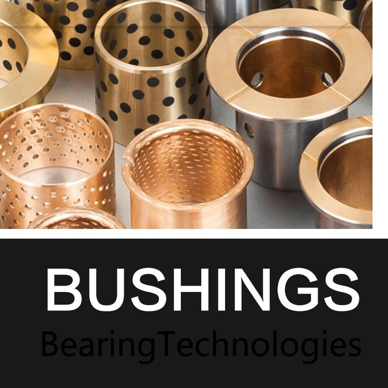 Oilless Lubrication Cast Bronze Bushings Sleeve & Sintered Brass Bushing supplier