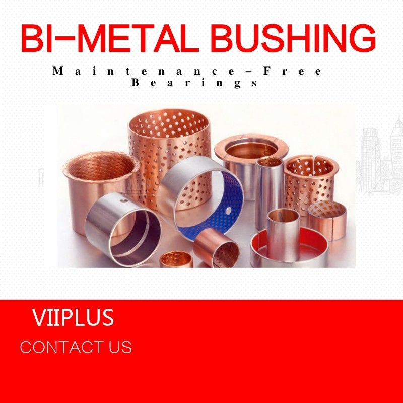 Compression Moulding Sliding Bearing & Plate , Over - Molded Self Lube Bushings Customized supplier