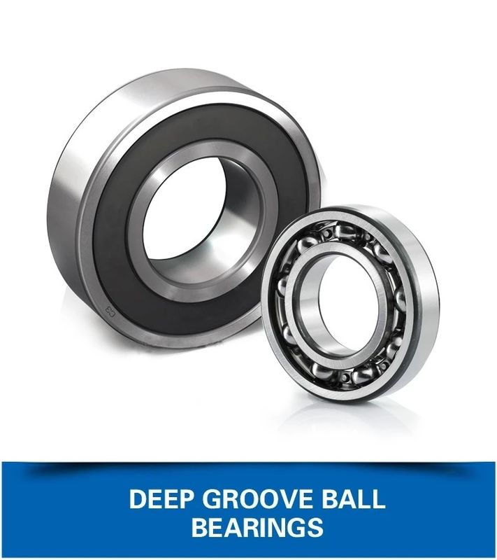 SS Self Lubricating Plain Bearing , Radial Deep Groove Ball Bearings Easy Installation supplier