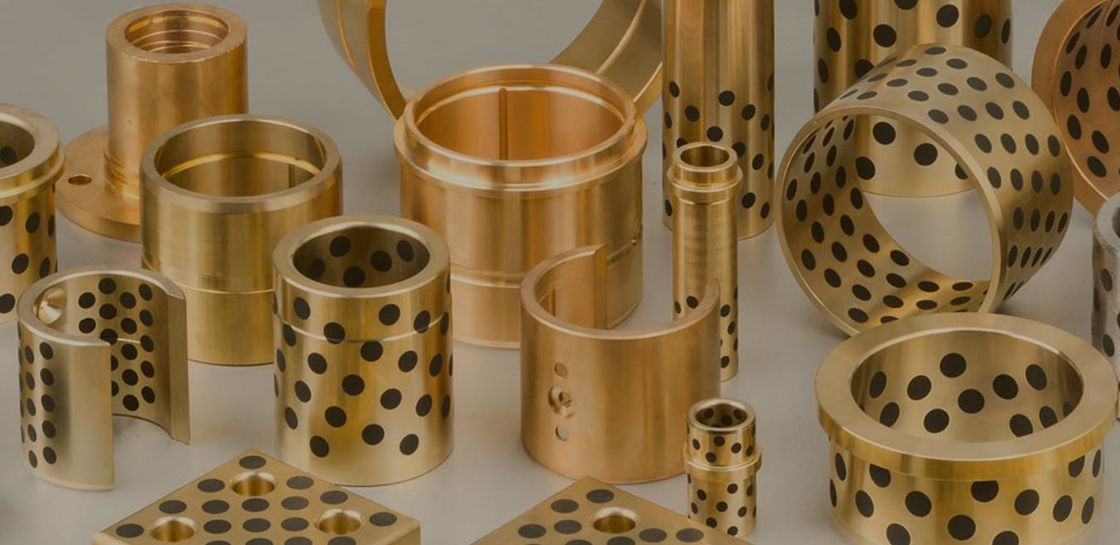 Copper Based Standard Self Lubricating Bushing For Plastic Mould &  Press Die Sliding Plate supplier