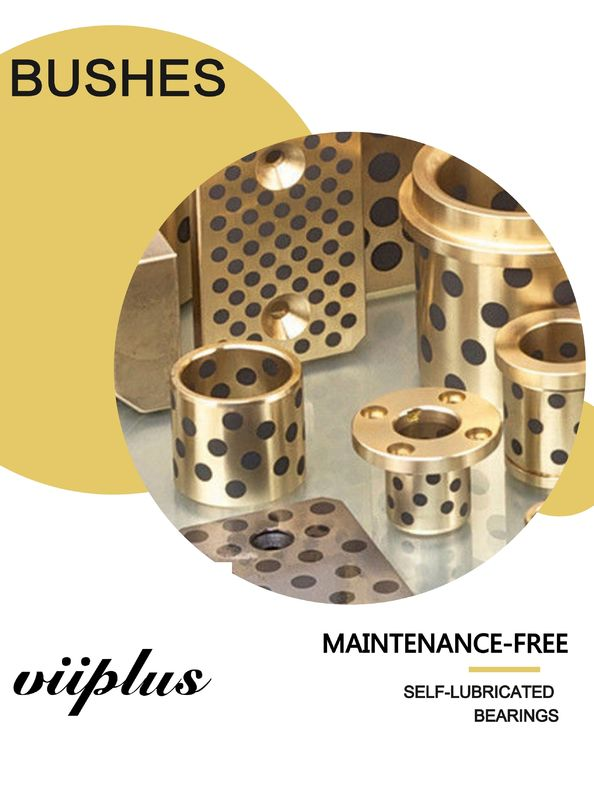 Extra Large Size Bronze Graphite Plugged Bushings flange dimensions | Bushings & Bearings | Sleeve, Flange, Thrust supplier