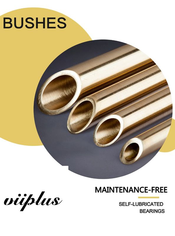 Brass And Copper Alloys Bronze Sleeve Bushings , C93200 Self Lubricating Bearing SAE660 Sankyoilless standard supplier