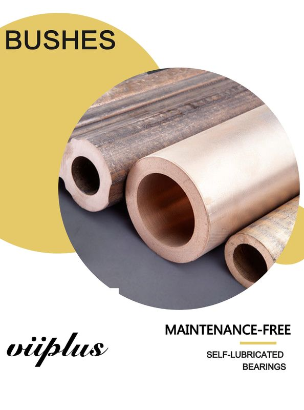 C95400 Solid Lubricant Bearings America Graphite Plugged Oiles Aluminium Bronze Bearing
