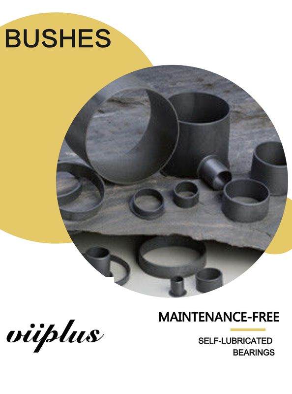 High-performance Cylindrical Plastic Plain Bearings & Flange Bushing supplier