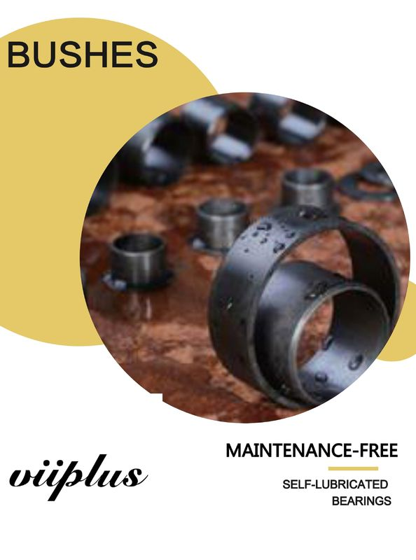 Large Selection of Plain Bushings Materials and Dimensions