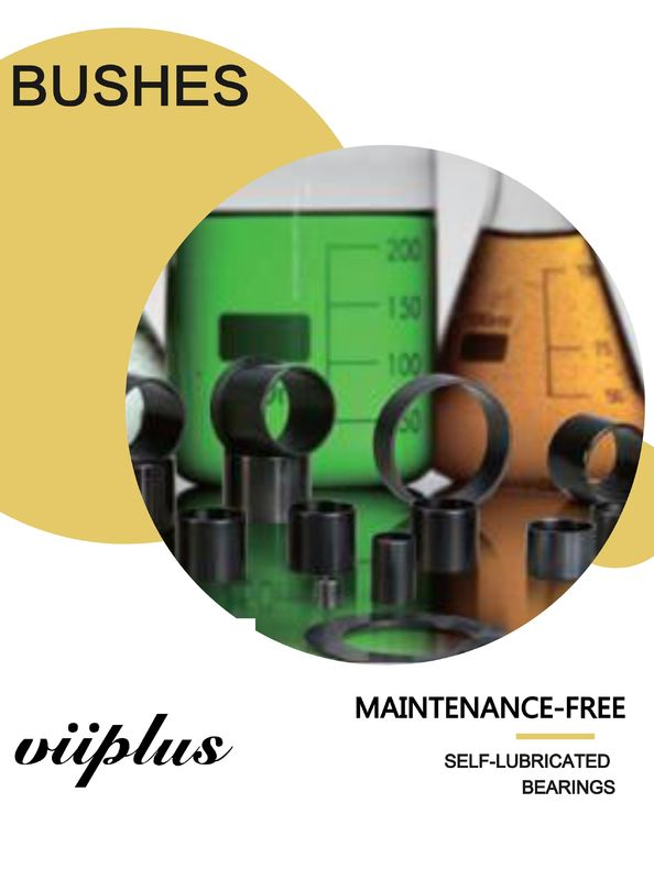 Plastic Compound Metric Sleeve Bushings |  Cylindrical Bushes-Sliding Bearings supplier