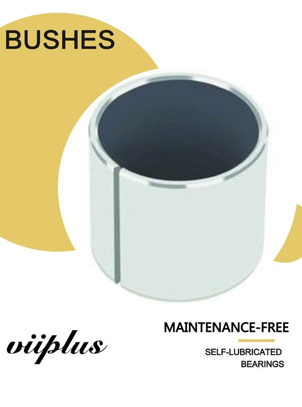 Steel Backed Ptfe Lined Bushing Inch Sleeve Bushings Composite Easy to install, highly durable