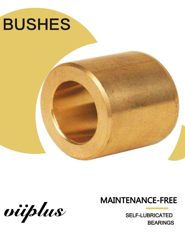 Industrial Cast Bronze Bushings 2.0m/S Sliding Speed For High Speed And Low Load supplier
