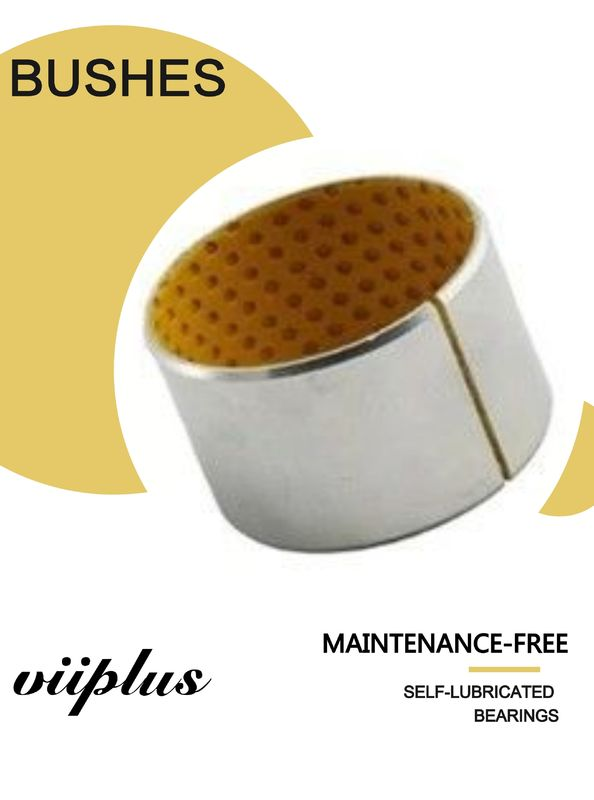 Rolled Bronze Yellow Pom Flanged Sleeve Bushing Boundary - Lubricating supplier
