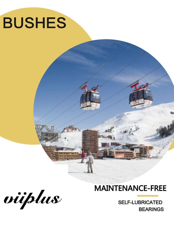 Ski Lifts PTFE Self Lubricating Bearings Good Dimensional Stability & Capacity supplier