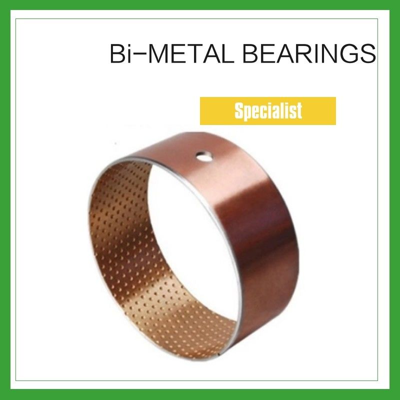 Bimetal Composite Bearings &  Spilt Oilless Bushes For Engineering Machinery