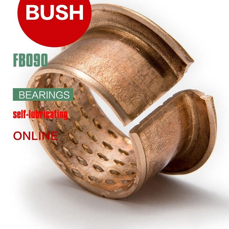 Diamond Oil Holes Wrapped Bushing, Bronze CuSn8P, DIN 1494 / ISO 3547, Low-maintenance supplier