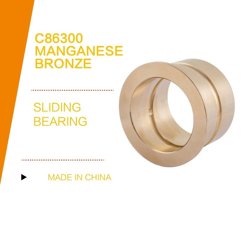 High Strength C86300 Manganese Bronze Grooves Bushings / Standard Dimensions In Mm supplier