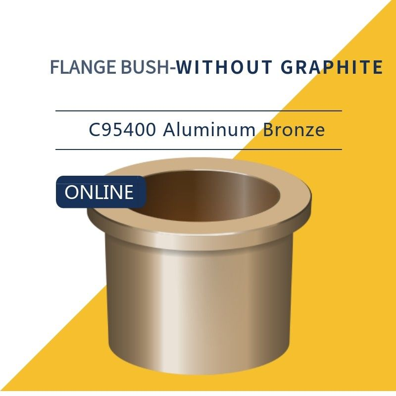 C95400 Alloy B505 C954 Aluminum Bronze STANDARD - STOCKED Bushings supplier