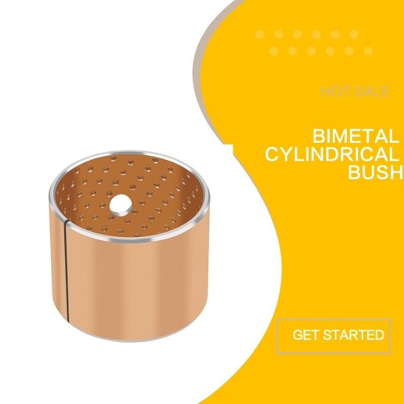 Metal And Bimetal Bronze CuPb10Sn10 Sleeve Bushings To Standard SAE 792 Housing Spilt Bushes supplier