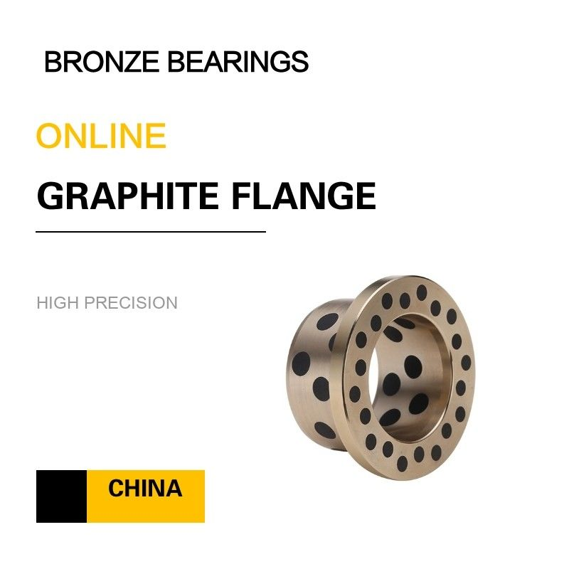EN Copper Alloy Bearing | CuZn25Al6Fe3Mn3 Graphite Sleeve Brass Bushing for Chain Conveyors supplier