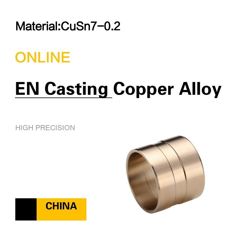 CC492K CuSn7- 0.2  Sleeve Bushings EN Wrought Copper Alloy supplier