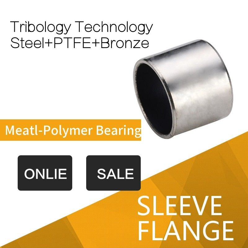 High Performance Bearing Solutions Tribology PTFE Metal Polymer Precision Bushes Parts supplier