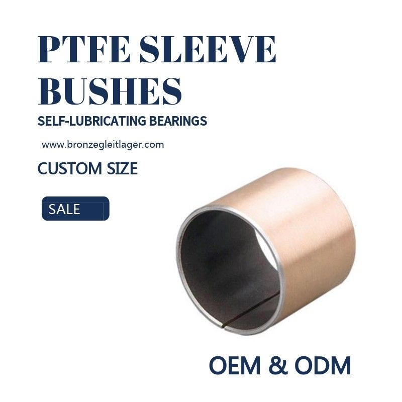 Guide PAF PAP Plain Bearings Steel Copper Sleeve Bushes supplier