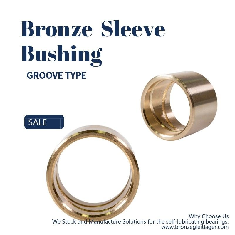 Custom Casting Bronze Bushing Thin - Walled Bearing Use In Agricultural Machinery supplier