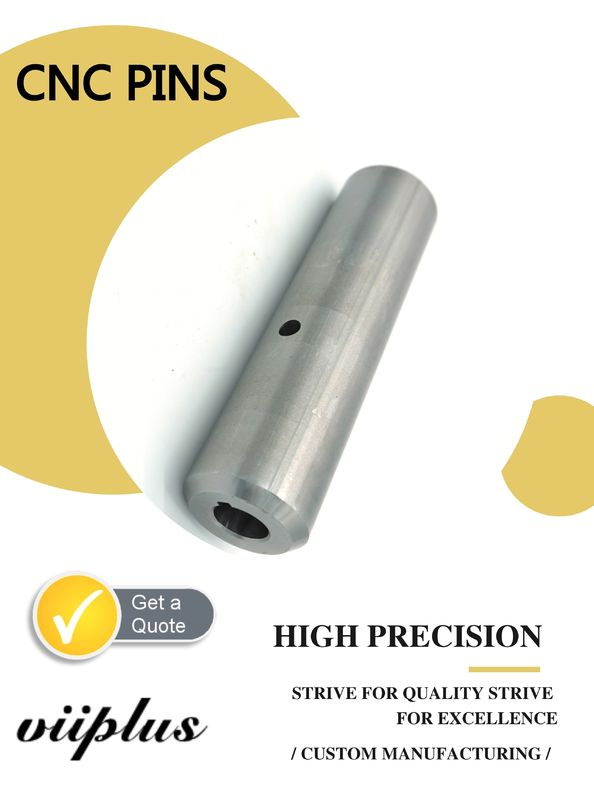 High Precision CNC Connecting Pins Custom Forging Turning 42CrMo Steel supplier