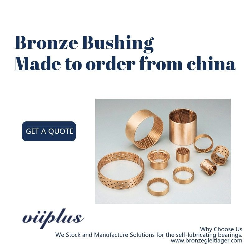FB -090F / 092F Electric Motor Bronze Bushings 4040mm Size Corrosion Resistance supplier