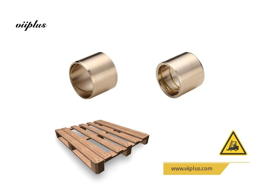 European Standard Tin Bronze Brass Bushing CuSn5Zn5Pb5 Material Long Life