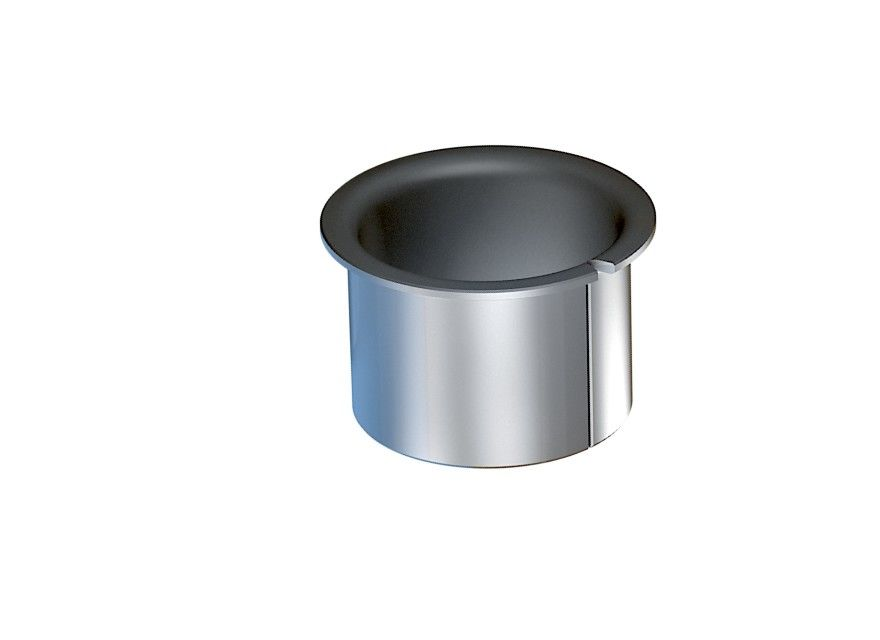 Dry Sliding Bushing Butt Joint Flange Size Teflon PTFE Bushes