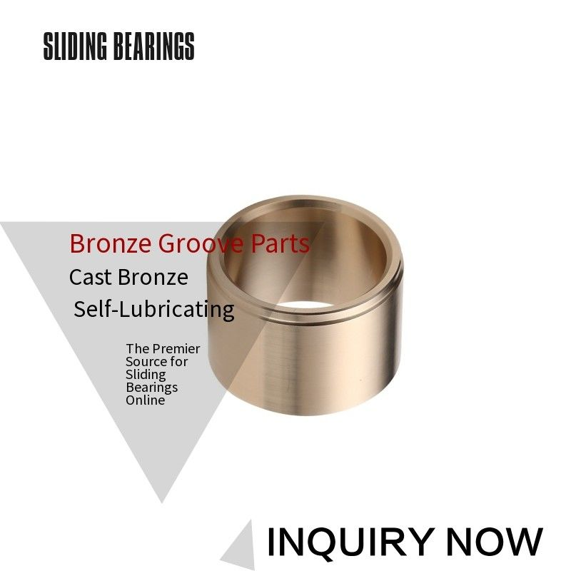 Flange Size Cast Bronze Bushings Groove Pattern