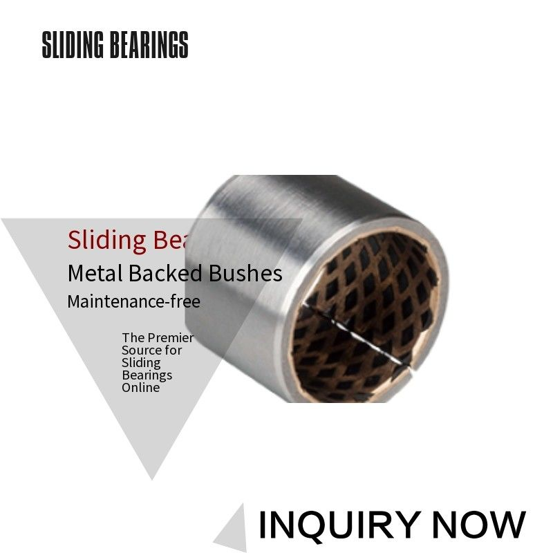 Bimetal Bearing Bushes CuPb10Sn10 Thin Walled Graphite Self-Lubricating