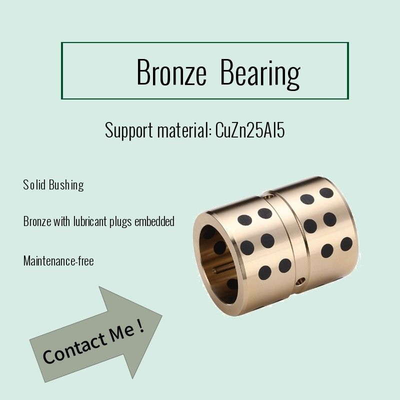 Oilless Bush #500Sp & C86300 Custom Size Graphite Bearings,  Metal Alloy supplier