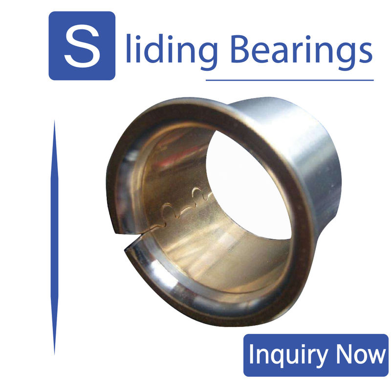 Engineering / Bimetal Bushings / Material Cupb10sn10 & Cusn6zn6pb3 Track Roller Bushes supplier