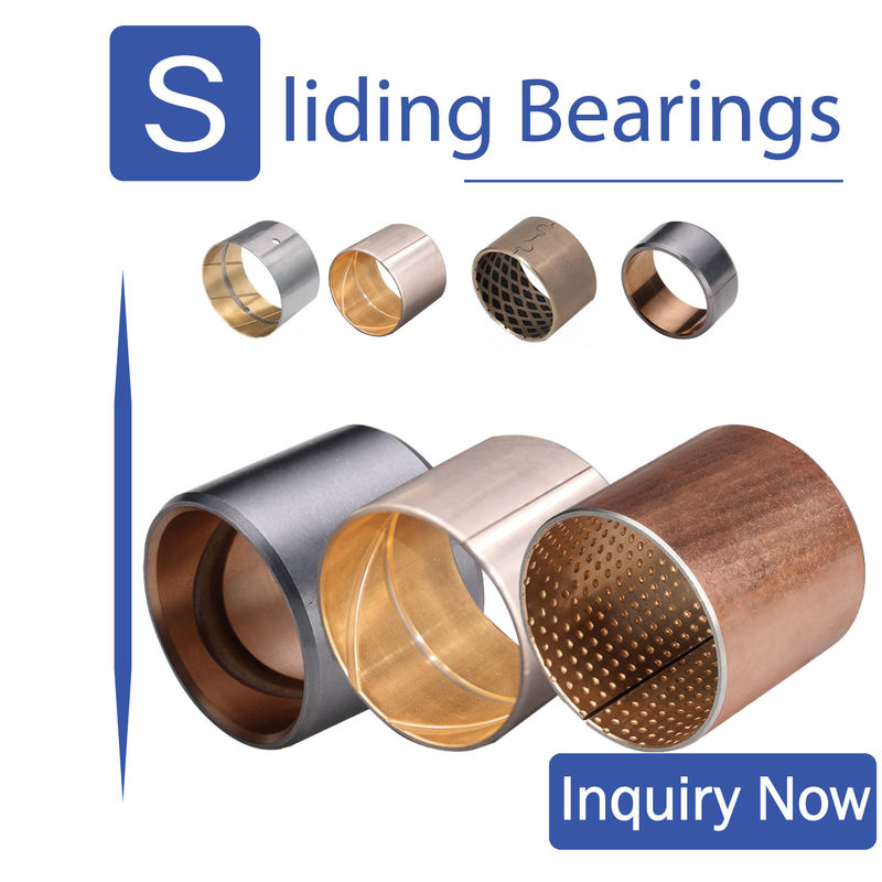 Valve & Pump Bimetal Bearing Bushes Gear Transmission Parts ISO 9001 Passed supplier
